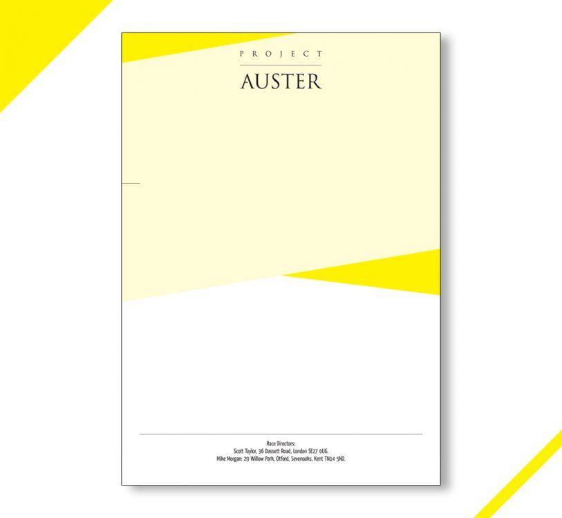 Auster Letterhead